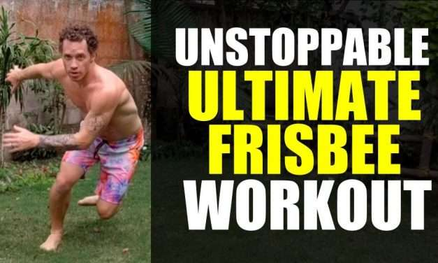 This Ultimate Frisbee Workout Will Make You Unstoppable