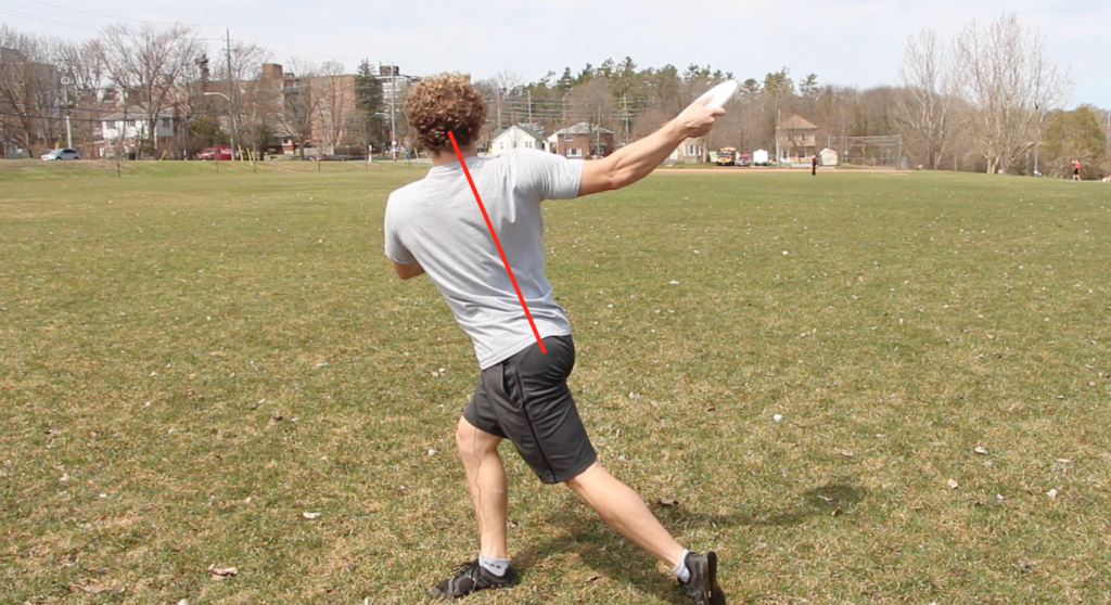 straight spine for backhand pulling