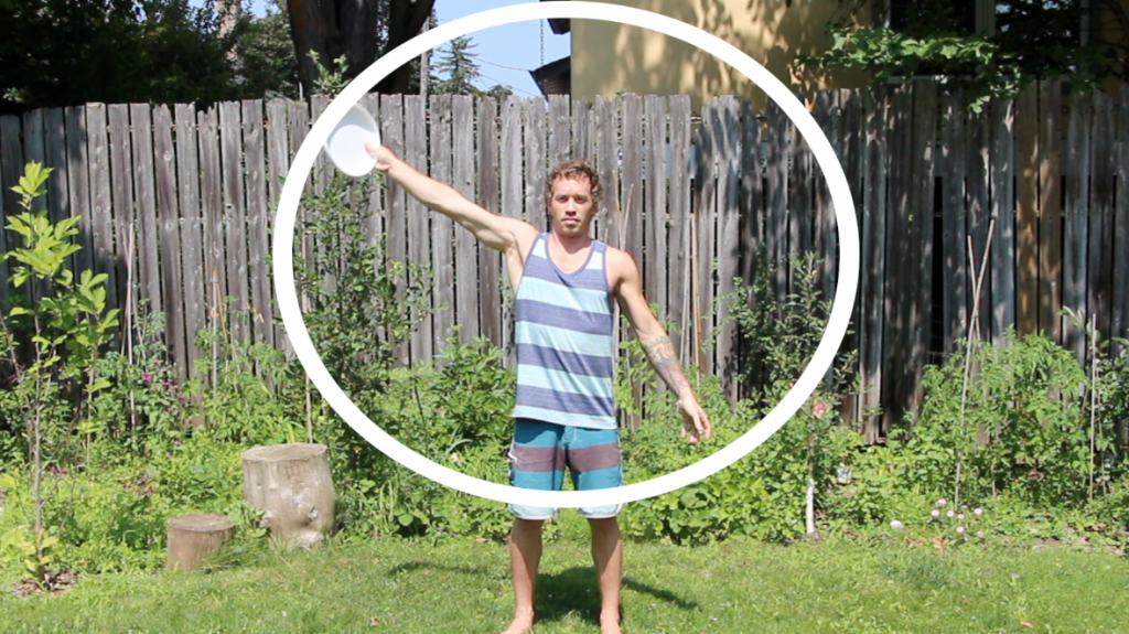 beginner ultimate frisbee players catching with one hand become bigger targets for handlers
