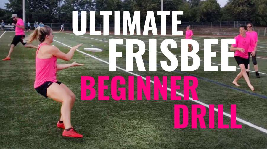 Beginner Drill For Ultimate Frisbee: Throw Before You Go